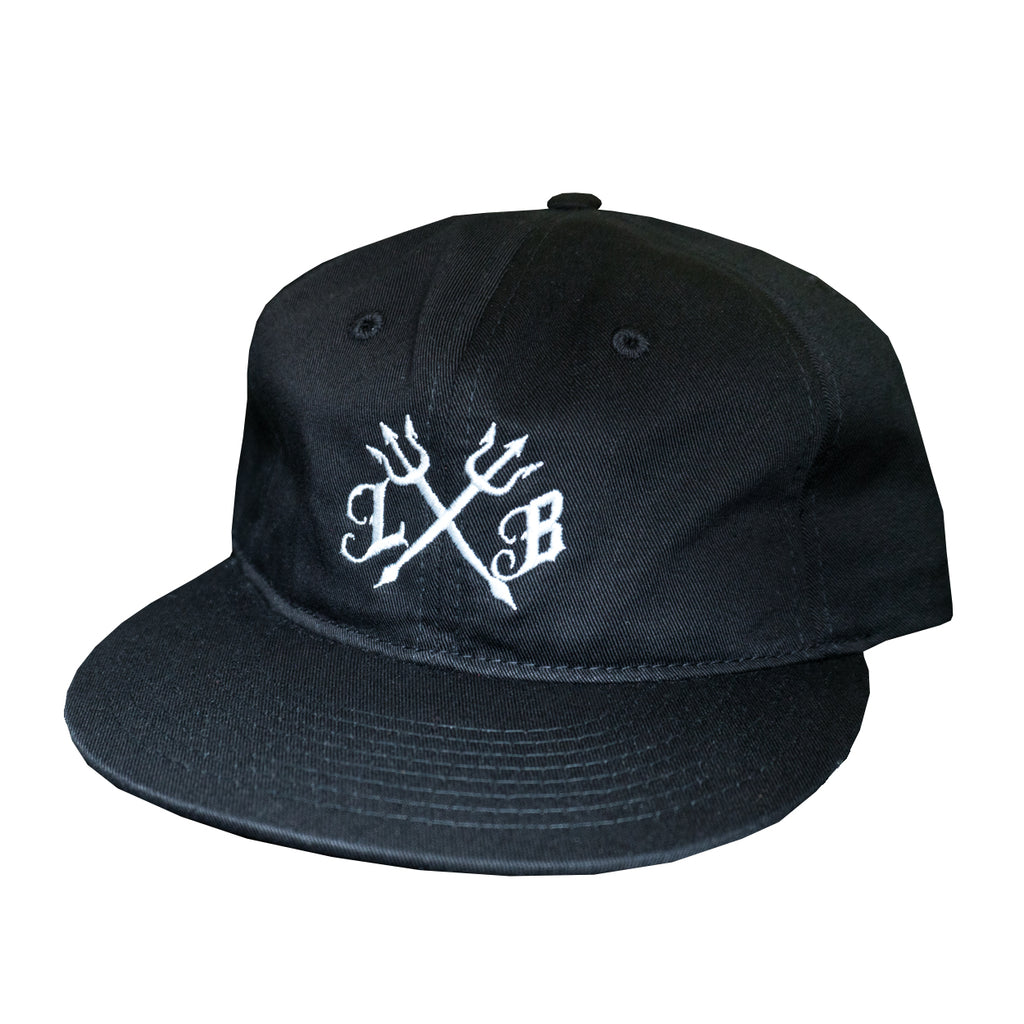 Trident Black Unstructured Snapback – Long Beach Clothing Co. d1d4425f2e1