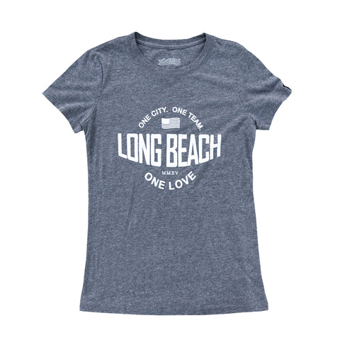 One Love Heather Grey Women's T-Shirt