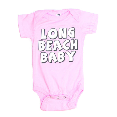 Long Beach Baby Onesie