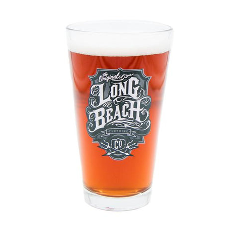 Oil Logo Pint Glass