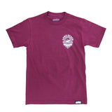 Cali Queen Men's Burgundy T-Shirt