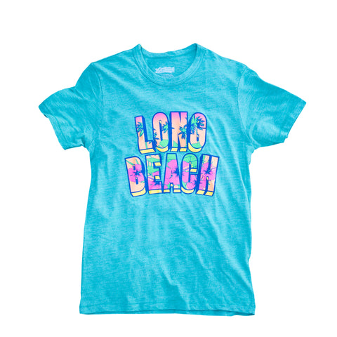 Long Beach Retro Floral Women's Kelly T-Shirt