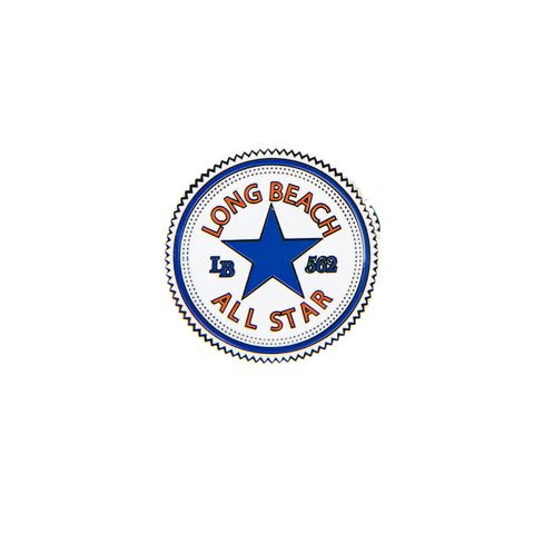 Long Beach All Star Lapel Pin