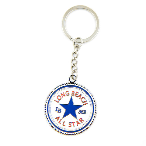 Long Beach All Star Keychain