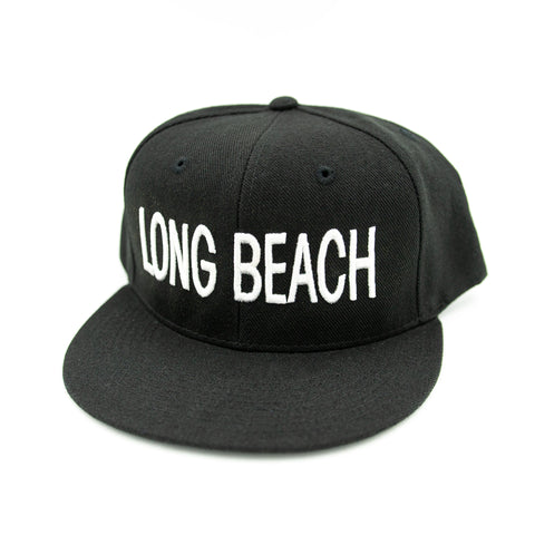Long Beach Block Letter Snapback