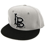 CSULB Grey/Black Snapback