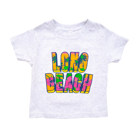 Retro Floral Toddler Ash T-Shirt