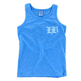 Old English LB Blue Toddler Tank Top