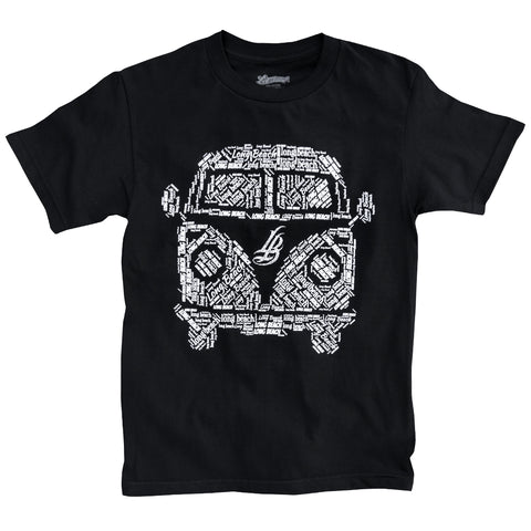 LB Bus Black Men's T-Shirt