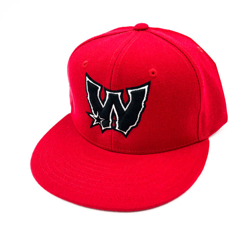 2aa0178706a01 West Coast For Life W Logo Red Snapback