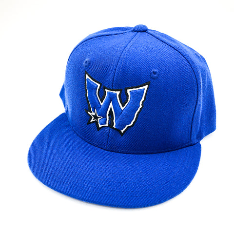 West Coast For Life W Logo Royal Snapback