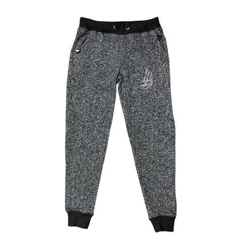 Cursive LB Charcoal Heather Sweat Pants