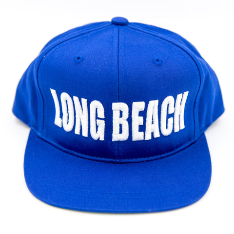 Block Long Beach Blue Youth Snapback