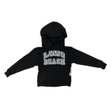 Collegiate Long Beach Youth Black Pullover Hoodie