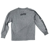 Old English Youth Charcoal Long Sleeve T-Shirt