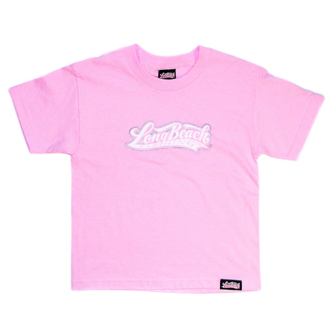 OG Logo Youth T-Shirt Pink