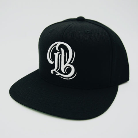 Legend LB Black Snapback