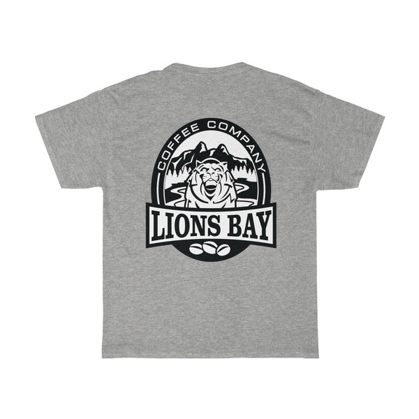 Stylin' with the Lion- Roaring: Scientific Coffee T - Lions Bay Coffee Company Inc.