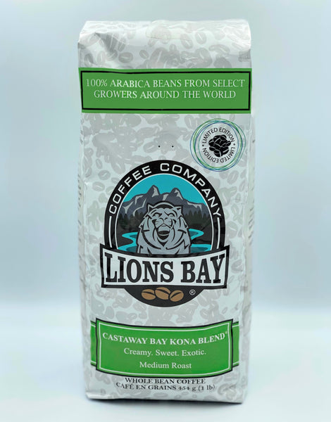 Castaway Bay Kona Blend - Lions Bay Coffee Roasters