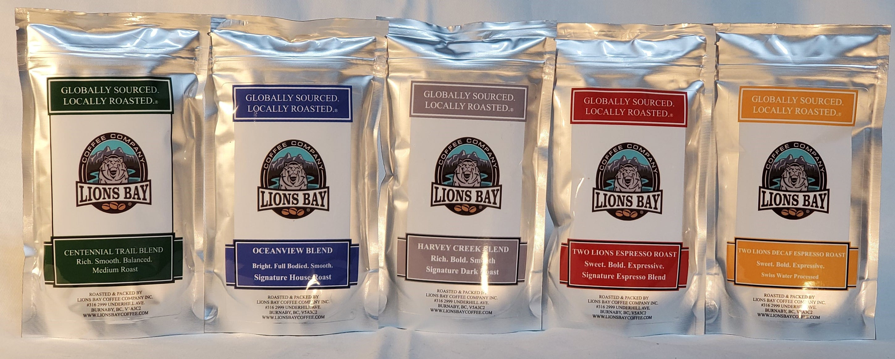 Sample pack - Lions Bay Coffee Roasters