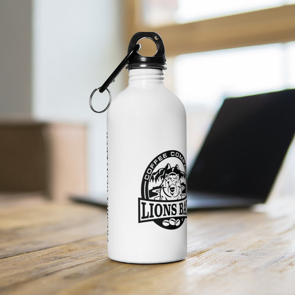 Stylin' with the Lion- Roaring: Stainless Steel Water Bottle - Lions Bay Coffee Roasters