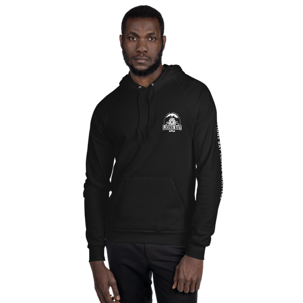 Stylin' with the Lion- Roarin' 100% cotton fleece hoodie - Lions Bay Coffee Company Inc.