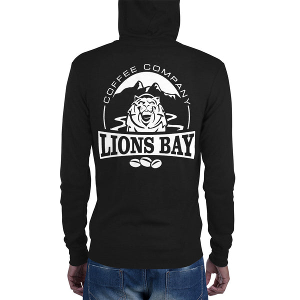 Stylin' with the Lion- Roarin' Hoodie! - Lions Bay Coffee Roasters