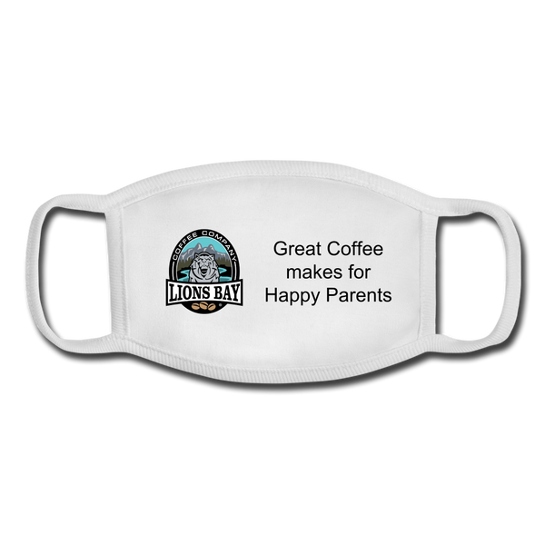 Stylin' with the Lion- Youth Face Mask - Lions Bay Coffee Roasters