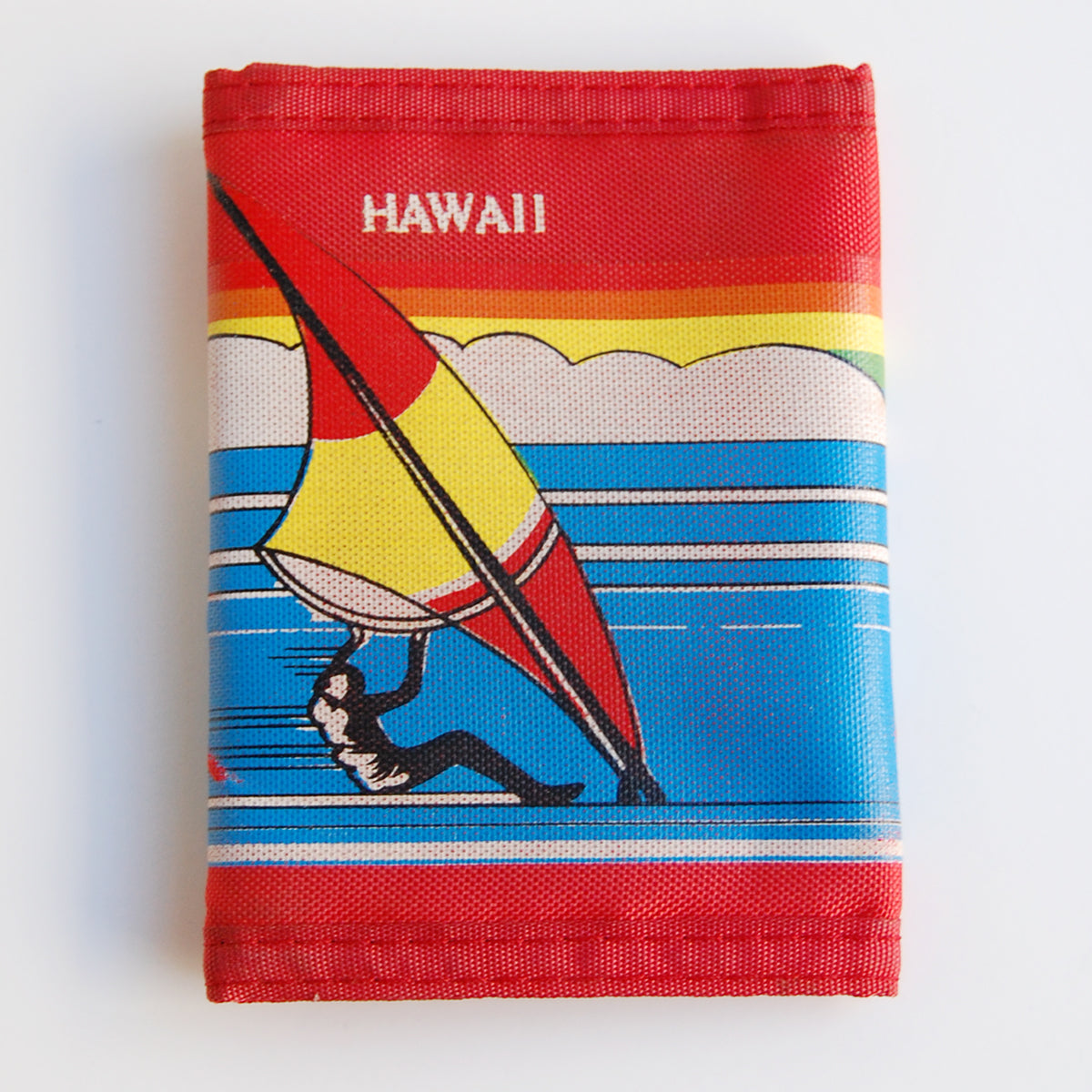 Vintage 80s Hawaii Velcro Wallet