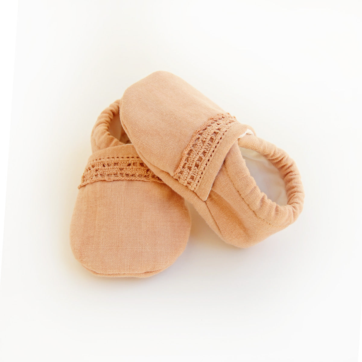 """Mille"" baby booties"