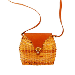 """Kate"" Vintage Basket Purse"