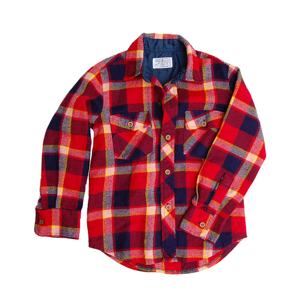 layering flannel shirt