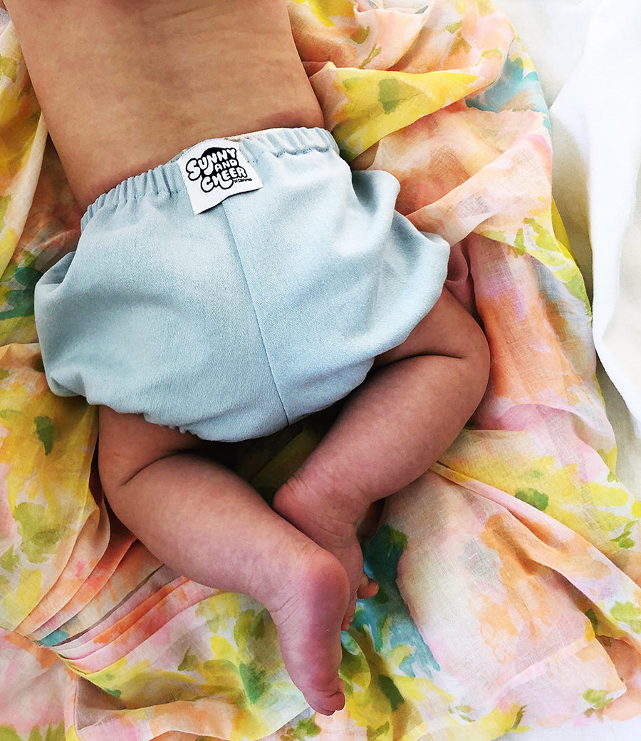 """Sunshine"" everyday natural linen bloomers"