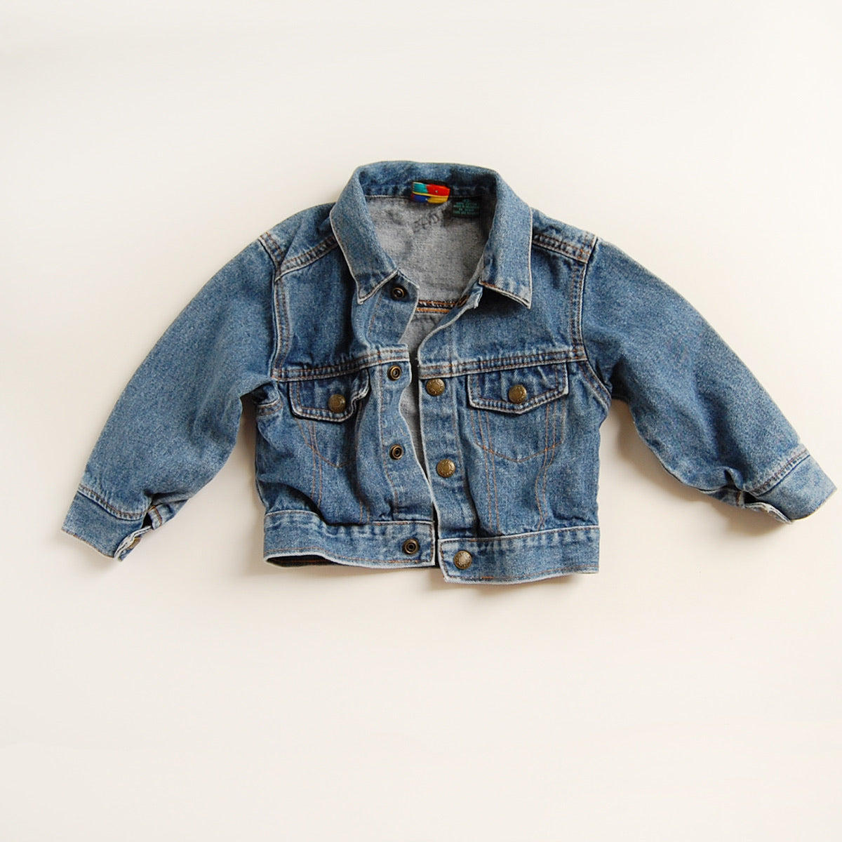 """I love the 90s"" vintage kids denim"