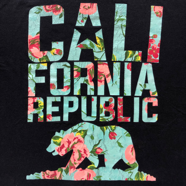"""Cali-flower Republic"" custom ankle biters"
