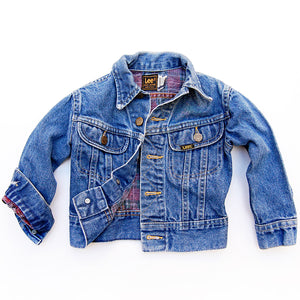"""Bud"" vintage 80's Lee's kids denim jacket 