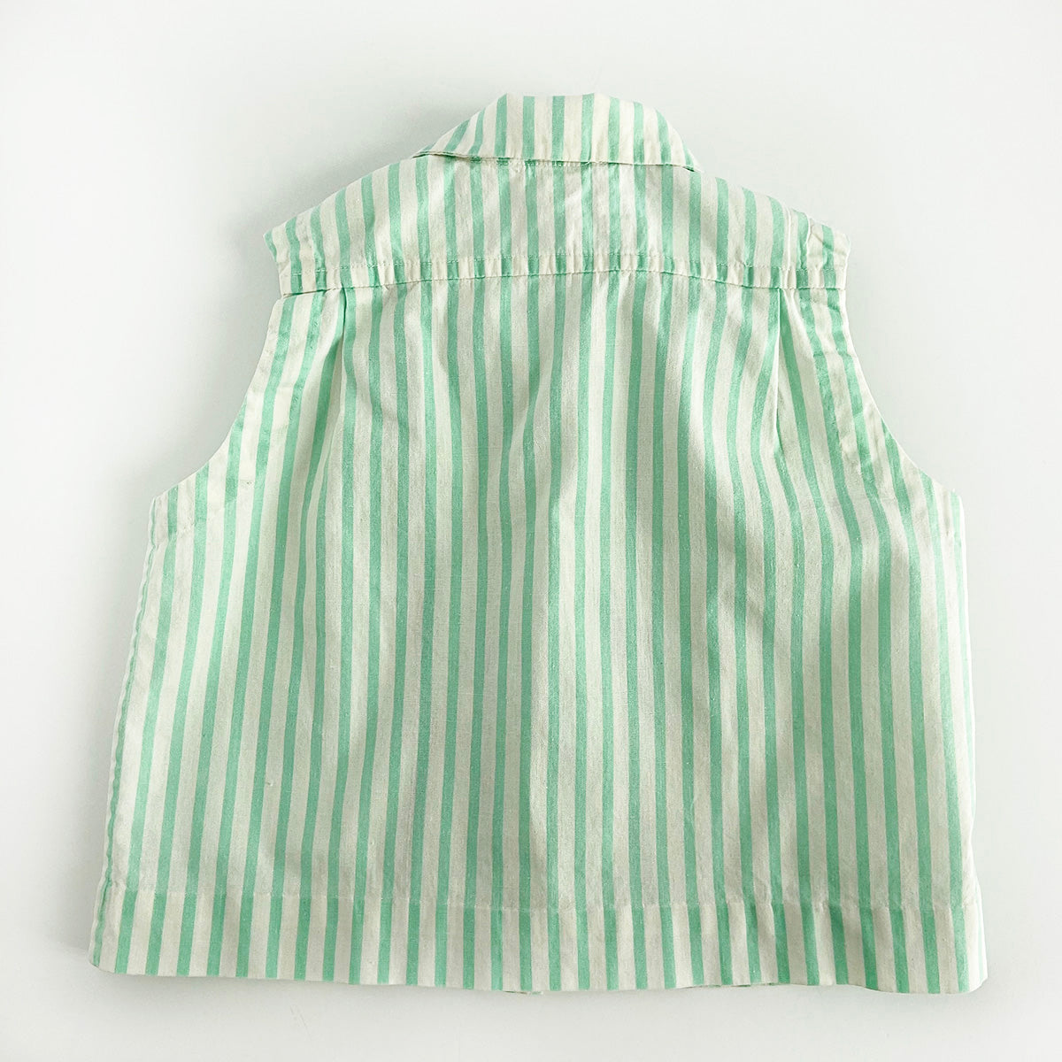 """Mint"" Vintage Toddler Button Down"