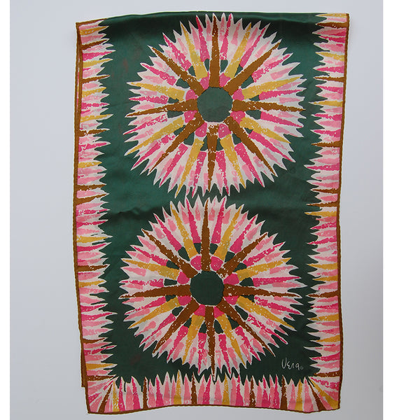 """Donna"" vintage silk scarf (free shipping)"