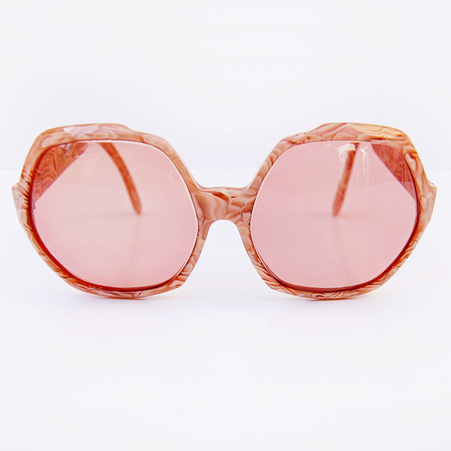 1970's rare oversized Yves Saint Laurent sunglasses