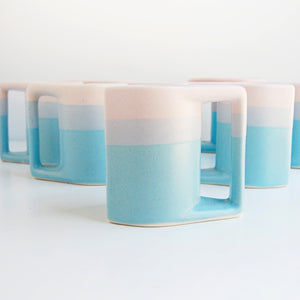 """Like Candy"" Vintage Padilla Stacking Mugs"