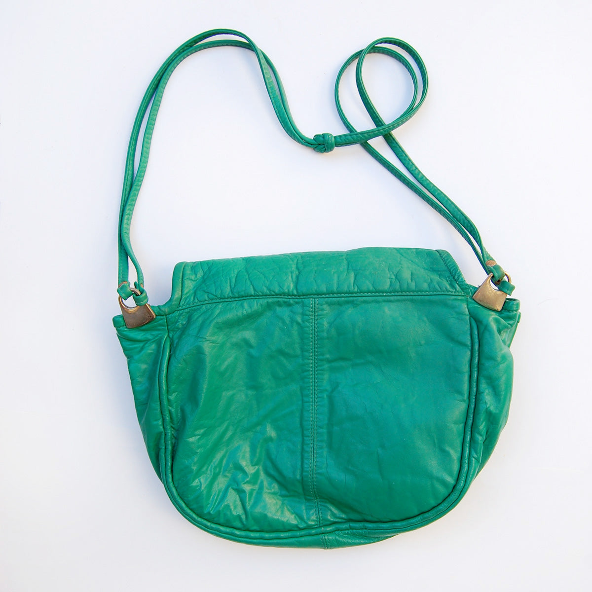 """Californian"" 1980's Leather Bucket Bag"