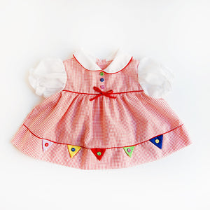"""Party Time"" baby dress (6-12 months)"