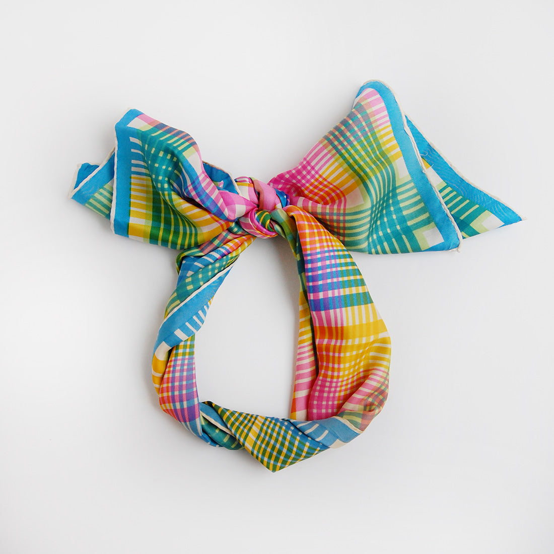 """Candy"" Echo silk scarf"