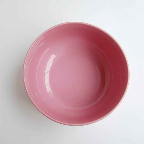 """Rose"" millennial pink vintage serving bowl"