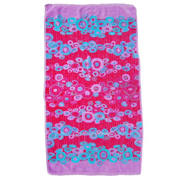 """Bubbles"" vintage towel"