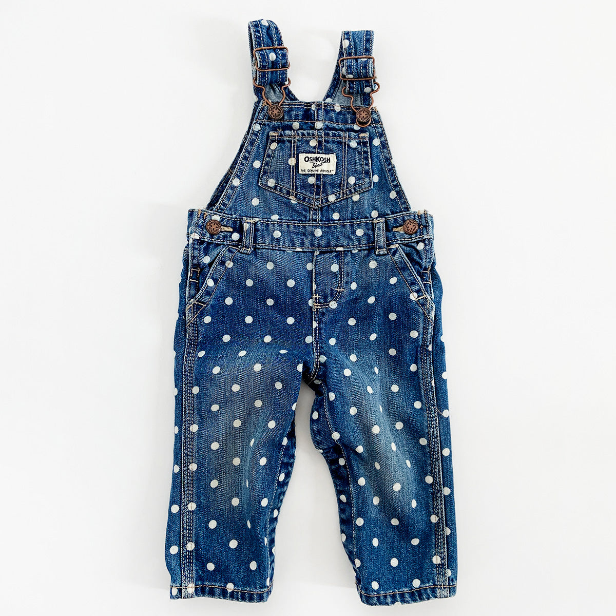 """Dot"" Happy Find OshKosh Overalls"