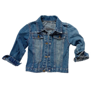 90's Vintage Wrangler Kids Denim Jacket