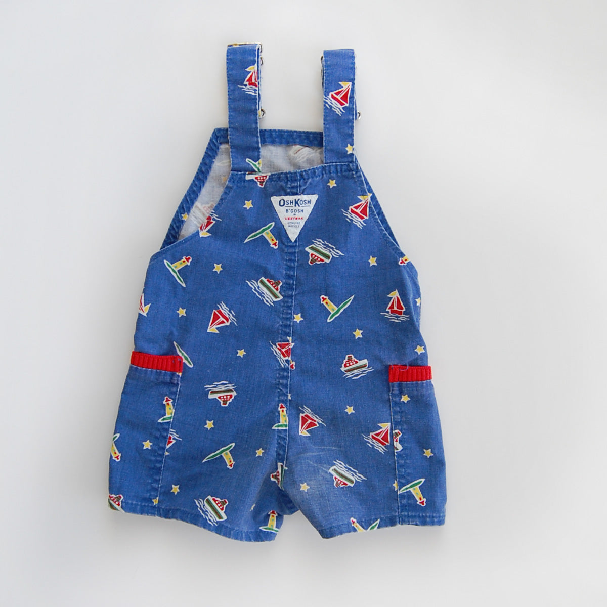 """Little John"" vintage nautical shortalls"