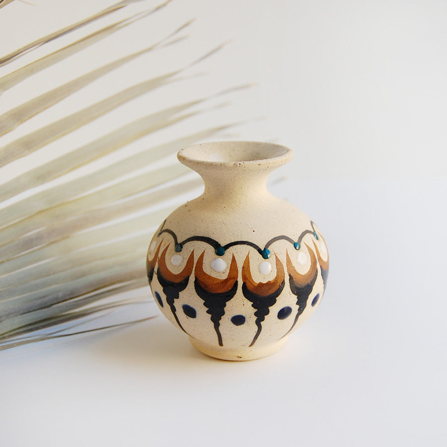 Neutral Decor Small Pottery Piece