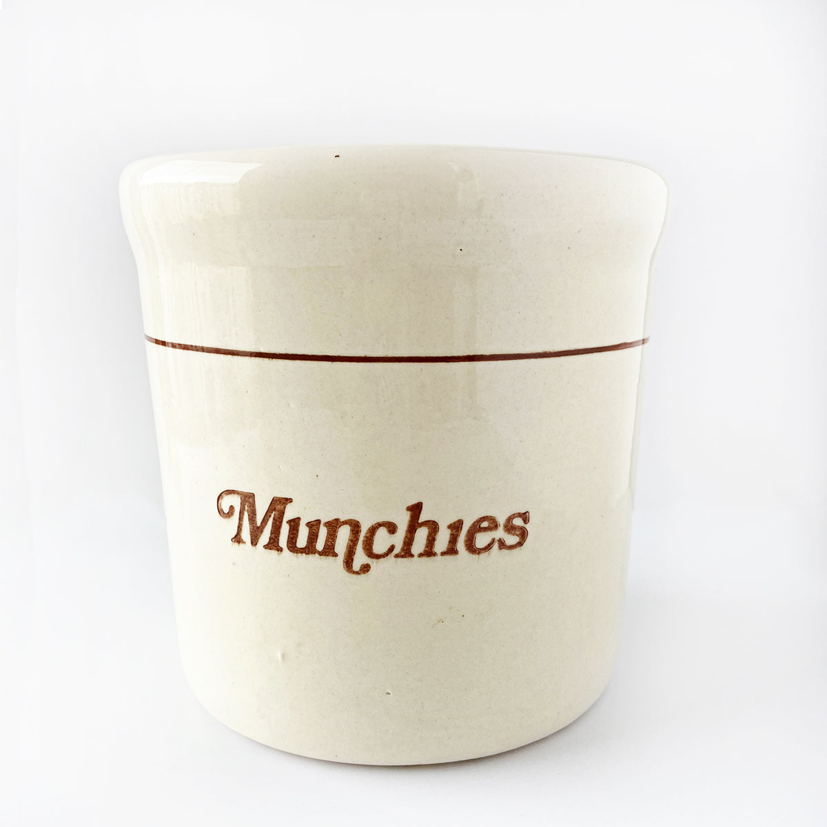 """Munchies"" Crock Pottery"